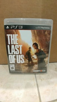 The Last of Us game for PS3