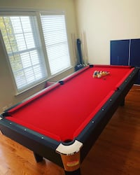 red and blue billiard table Alexandria, 22306