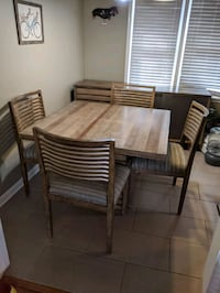 Dining Room Table and Sidebar Combo