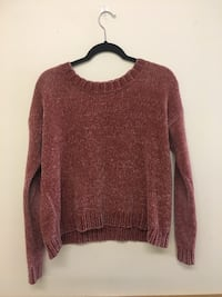 Womens Aerie chenille cropped sweater Peterborough, K9K