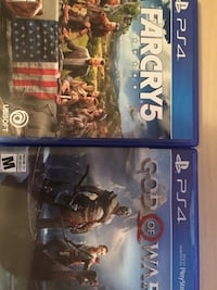 Farcry 5/ God of war Saskatoon, S7J 4C4