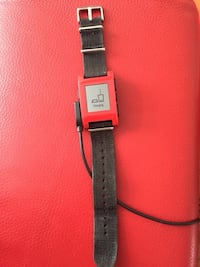 Pebble Smartwatch for iPhone and Android (Red) Gatineau, J9J