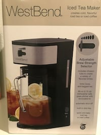 West bend ice tea maker