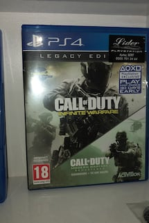 Cod infinite warfare legacy edition Ps4 oyun