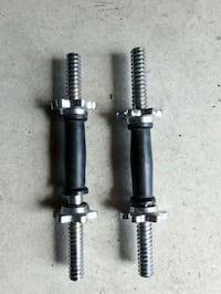 two black-and-gray shock absorbers London, N6L 0B4