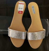 10.5 Pearl Gold Macy's Sandals Redding, 96001