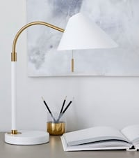 West Elm Lamp with USB port in Perfect Condition. Retail: $159 Baltimore, 21218