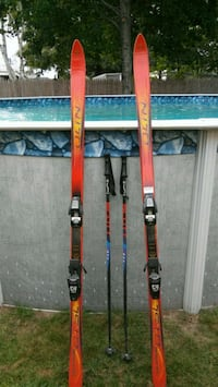Olin skis Salomon bindings Scott poles Methuen, 01844