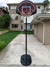 Lifetime Junior Basketball Hoop, Adjustable 5.5' - 7-5' Washington, 20011