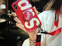 supreme iphone X/Xs max case  Sunnyvale, 94085
