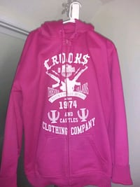 Crooks xl zip up sweater Edmonton, T6K 1Y7