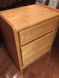 Maple Wood two drawer Cabinet.  Negotiable Falls Church, 22042