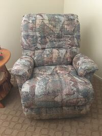 Recliner with heat and massage. Used very little. Like new made by Berliner  Lancaster, 93534