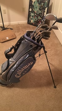 Callaway Golf Bag w/ Driver and Clubs