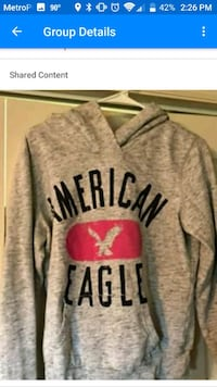 gray and black Pink by Victoria's Secret hoodie Lebanon, 37090