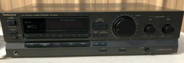 Technics SA-G9013 A/V Stereo Receiver w/ Remote and Manual