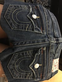 True religion size 24 shorts Toronto, M4Y 1S9