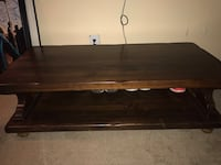 Mid size coffee table