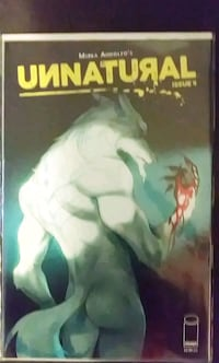 Unnatural Issue 4 variant cover