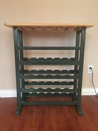 Beautiful Wine Rack holds 24 bottles and 18 wineglass  Vancouver, V5W 2N5
