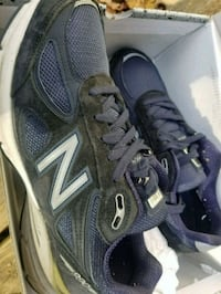 pair of black-and-gray New Balance sneakers Baltimore, 21223