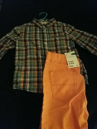 H&M sz 2-3 years outfit. Pants brand new with tag
