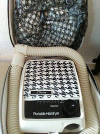 white and black houndstooth jc penney portable nail dryer and hairdryer Abilene, 79603