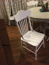 4 solid sturdy wood Dinning chairs. Los Angeles, 90048