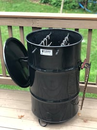 Pit Barrel Cooker (Smoker) w/Ash Tray and Cover Burke, 22015