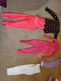Girl's Long John Sets and Pieces all in EXC Virginia Beach, 23455