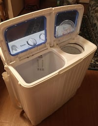 Costway Portable Mini Compact Twin Tub Washing Machine & Spin Dryer