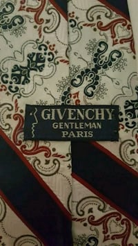 100% Silk Vintage Givenchy Paris Tie