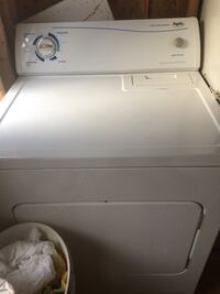 White front-load clothes dryer Laval, H7X 3H8