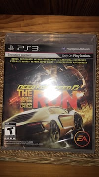 PS3 Need for Speed game 989 mi