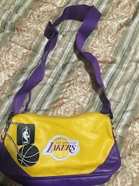 yellow and purple Los Angeles Lakers crossbody bag Bakersfield, 93311
