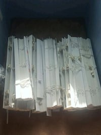 2 inch faux wood white blinds for sale