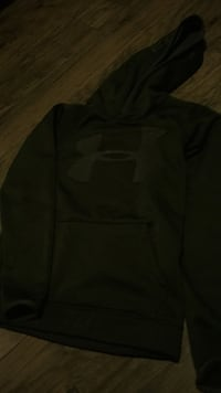 black and gray Nike pullover hoodie Kitchener, N2A 1Y6