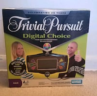 Trivial Pursuit Digital Choice Board game Alexandria, 22304