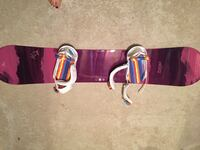 Snowboard with boots, bindings, helemt Edmonton, T6R 0R9