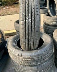 USED SET OF HANKOOK DYNAPRO HT TIRES *ALL TIRES 70%+ TREAD 225/65R17 Perth Amboy, 08861
