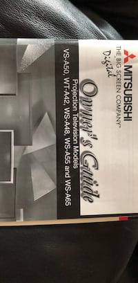 """Mitsubishi 65"""" projection tv East Greenville, 18041"""