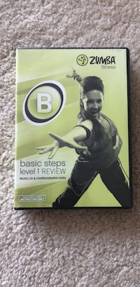 Zumba Basic Steps CD&DVDs Rockville, 20852