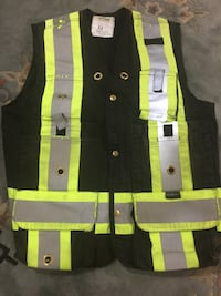 Black  Hi Vis safety vest Vaughan, L6A 1E8