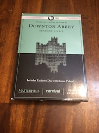 Downtown Abbey Season 1 to 3 on DVD (Read description first please) North Vancouver, V7P 1S3