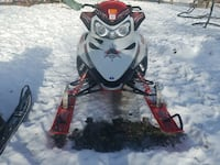 red black and white snow mobile Inver Grove Heights, 55076