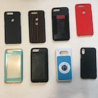 Assorted iPhone 6+/7+/8+ Cases, only $5 each Toronto