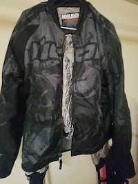 Icon Hooligan textile motorcycle jacket