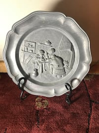 Vintage metal plate ! Chicago, 60660