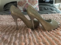 Gold and Silver 6in Heels Worcester, 01604