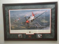 Limited edition of the Tuskegee Airmen print by Matthall Chantilly, 20151